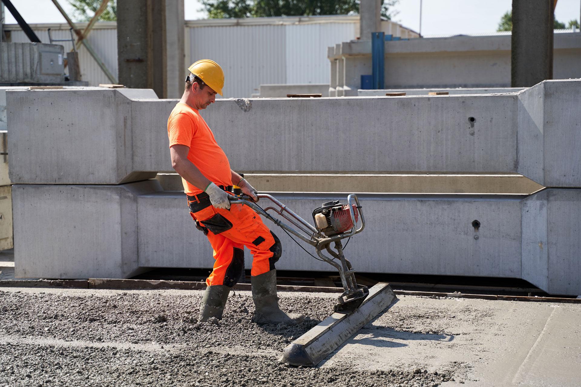 Ipari padló betonozó